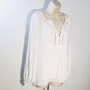 White House Black Market Dress Tunic Blouse Size 6